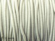 5 m elastische Nylon-Schnur Ø 2 mm, weiß