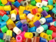 500 Stk Bügelperlen (Fuse Beads) 5 x 5 mm, Farbmix 1