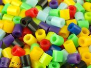 500 Stk Bügelperlen (Fuse Beads) 5 x 5 mm, Farbmix 4