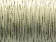 5 m gewachste Polyesterschnur, grau, Ø 1 mm