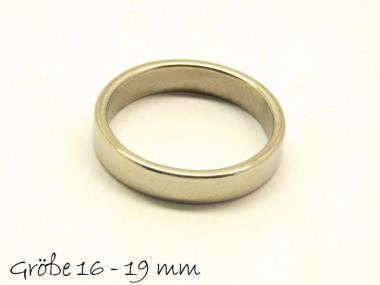 Edelstahl Ring, Ringgröße 16-19 frei wählbar