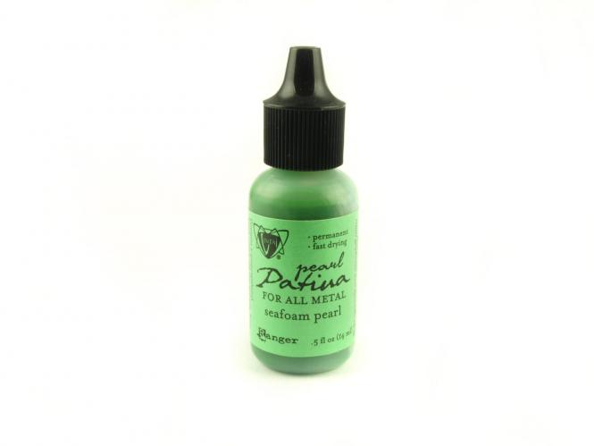 Ranger Vintaj Patina 15ml Flasche Seafoam Pearl (grün)