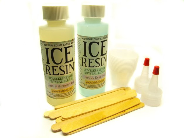 Ice Resin Original Giessharz Komplett Set